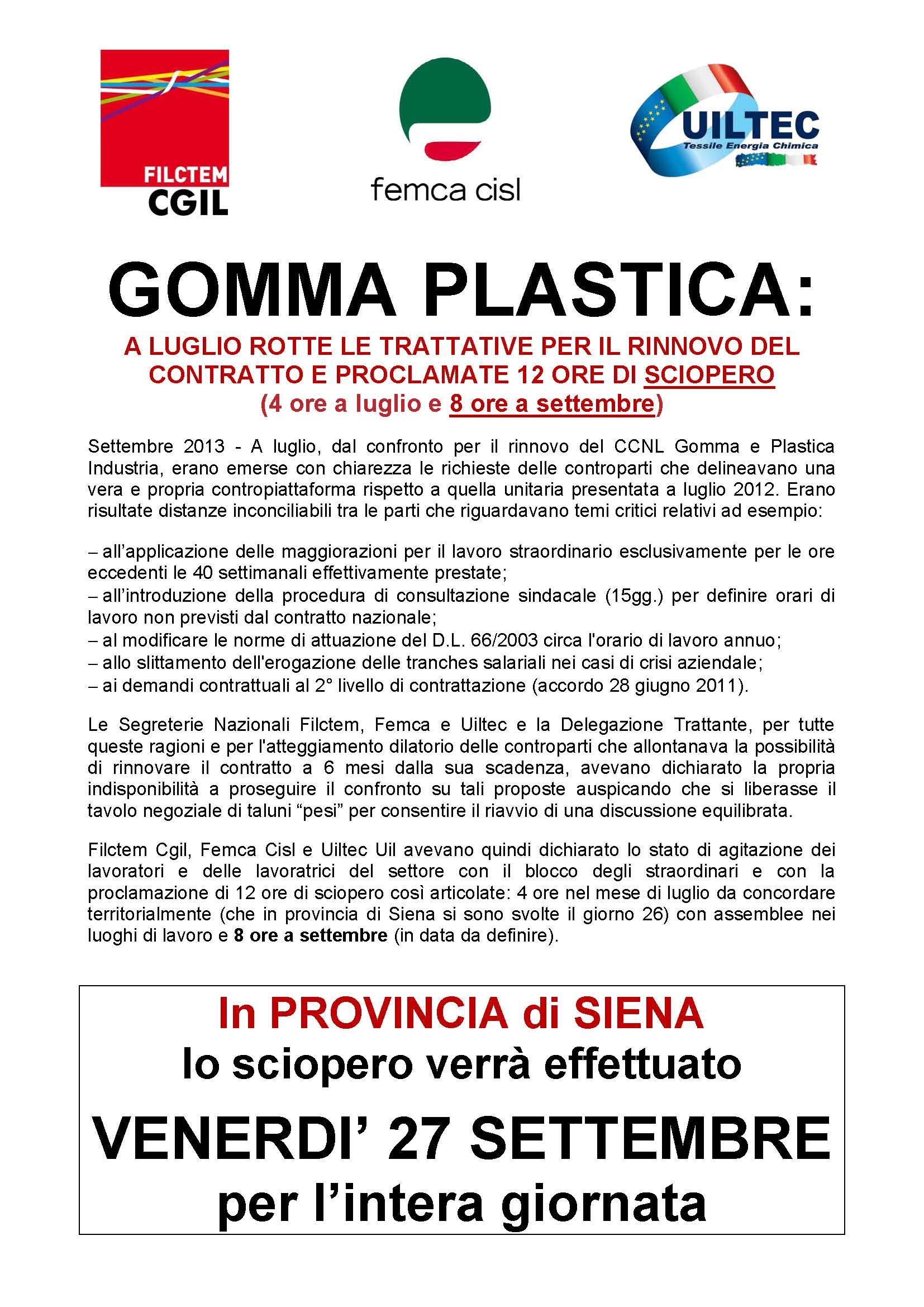 Ccnl gomma plastica industria 2014 Free eBook