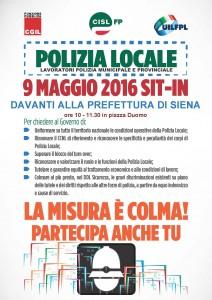 VOLANTINO Polizia Locale sit_in 9 maggio