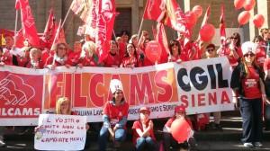 filcams siena a firenze sciopero terziario 060516
